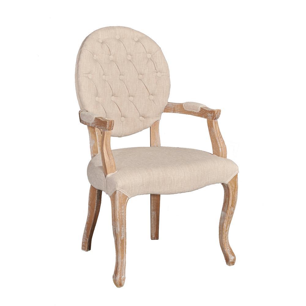Benji Linen Arm Chair