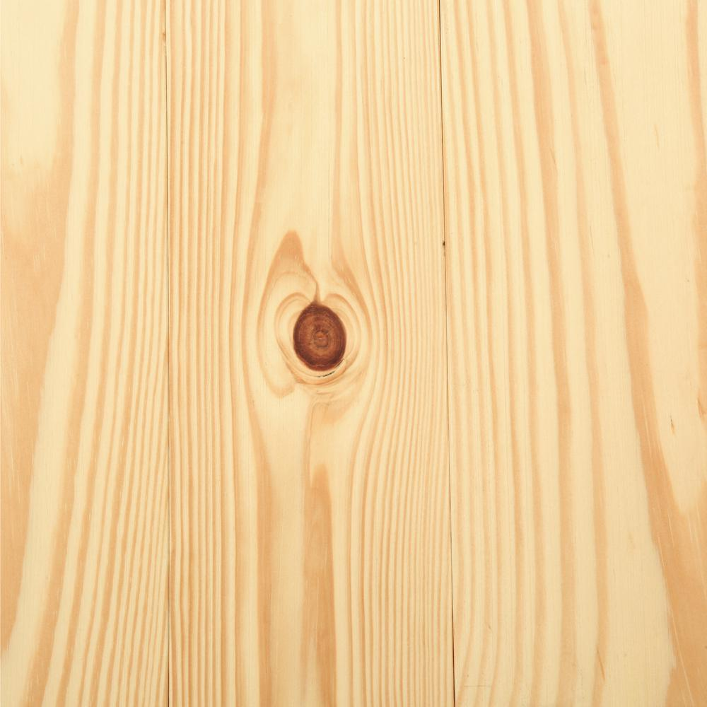 Antiqued Natural Pine 3 4 In Thick X 5 1 8 In Wide X