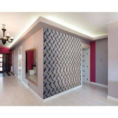 Diamond Plate Metal Wall Mural