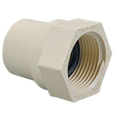 1 in. CPVC CTS Slip x FPT Female Adapter
