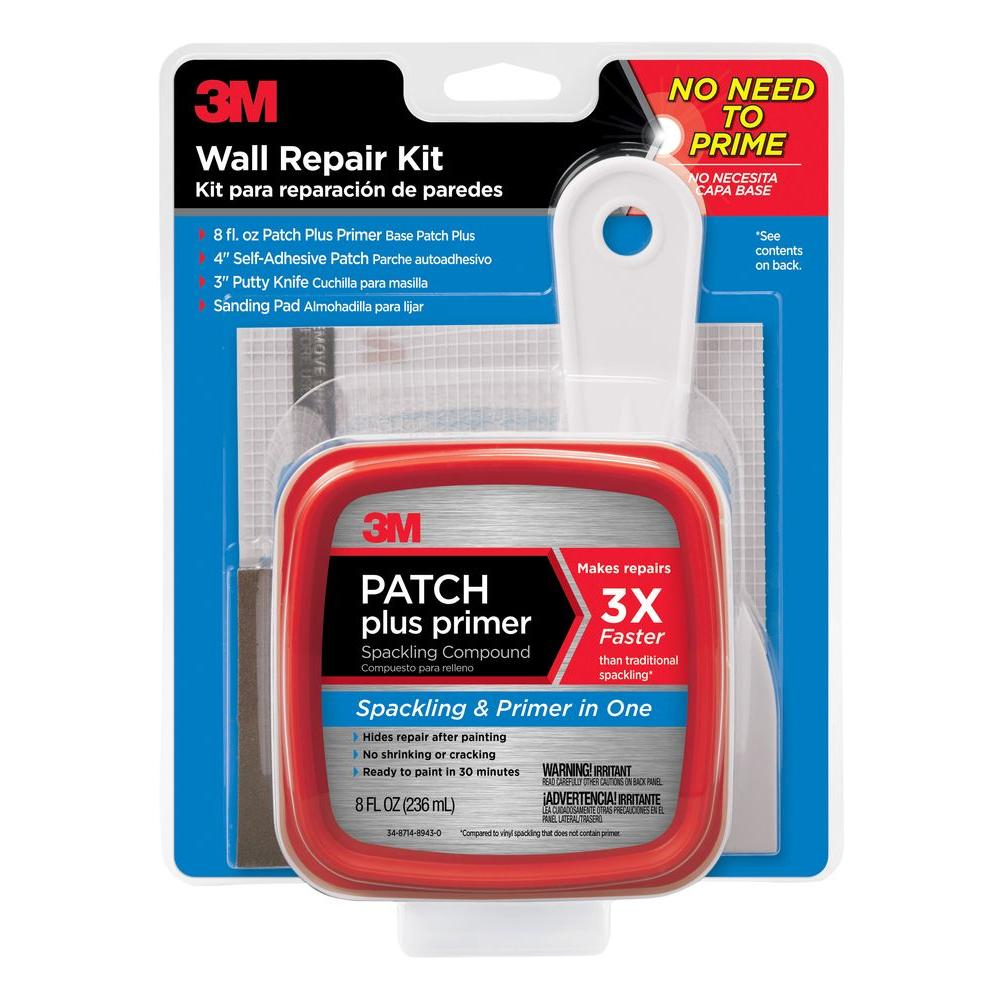 3M 8 fl. oz. Patch Plus Primer Wall Repair Kit