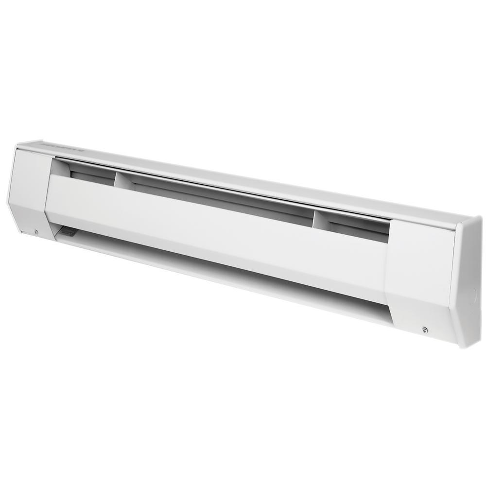K 5 ft. 120-Volt 1250-Watt Baseboard Heater in White