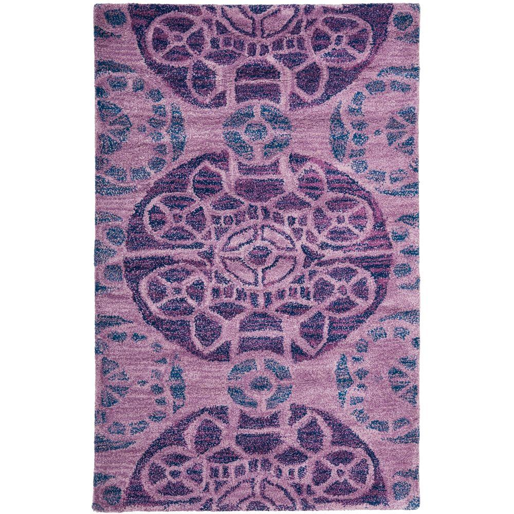 Safavieh Wyndham Purple 2 ft. 6 in. x 4 ft. Area Rug
