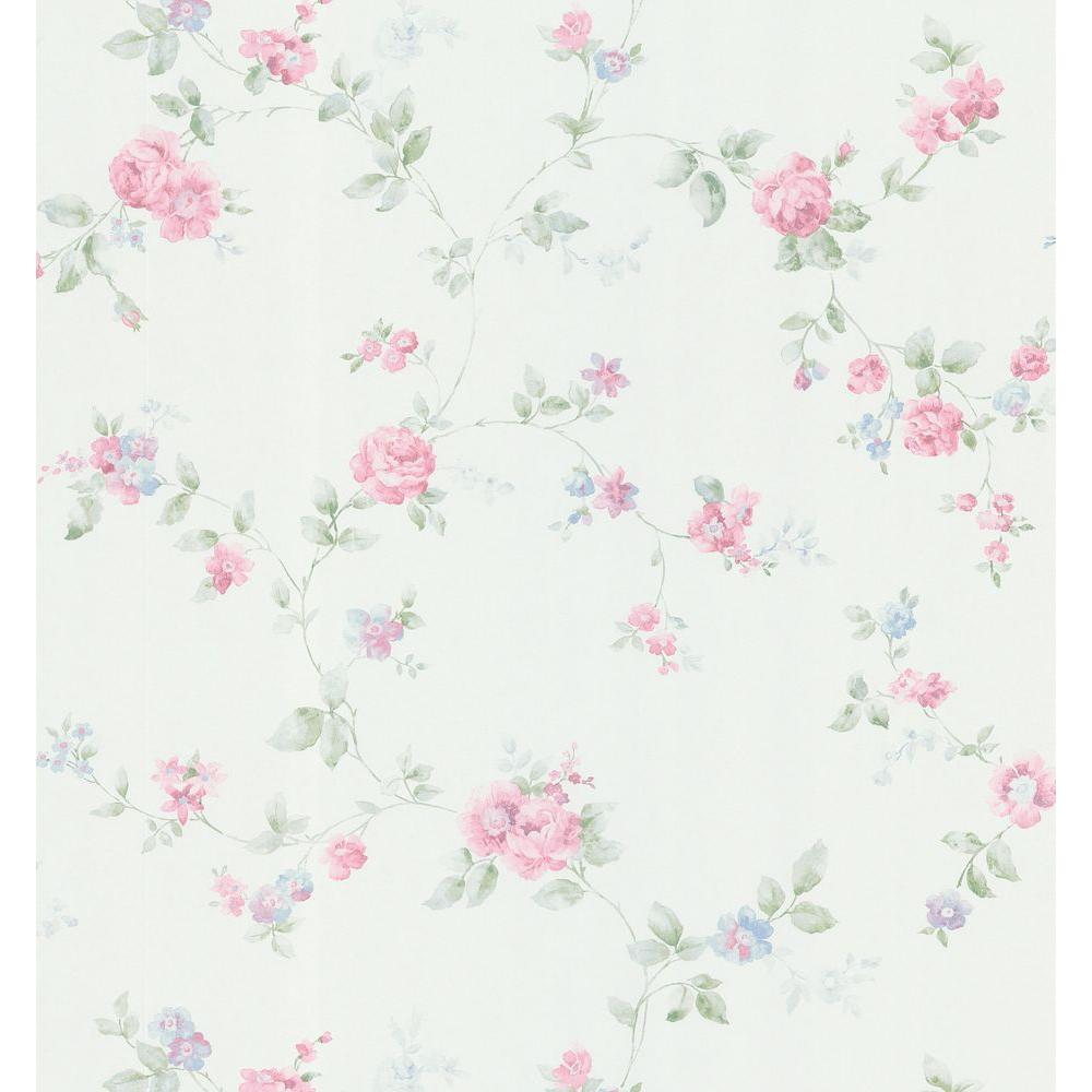 Brewster 8 in. W x 10 in. H Swag Trail Wallpaper Sample-DISCONTINUED