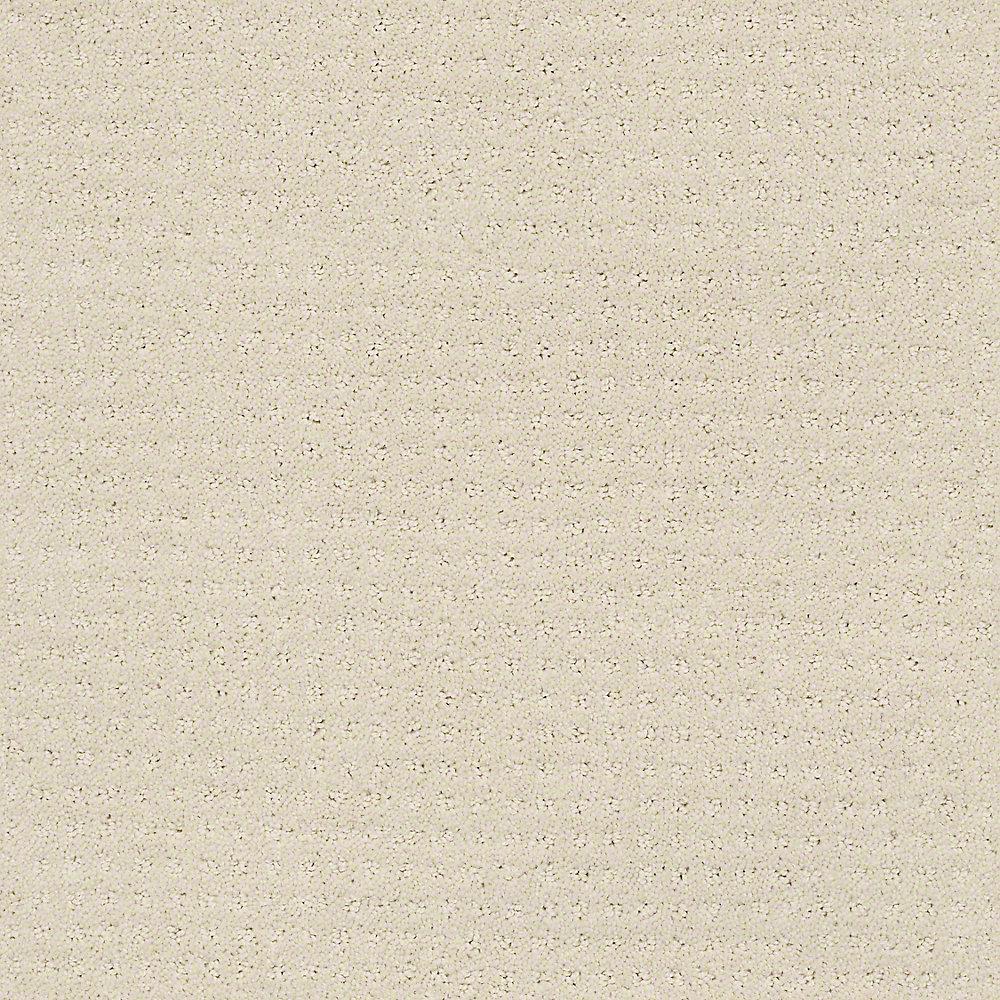 Carpet Sample - Sand Piper - Color Cobweb 8 in. x 8 in.