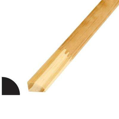 WM 105 3/4 in. x 3/4 in. x 96 in. Pine Finger-Jointed Quarter Round Moulding