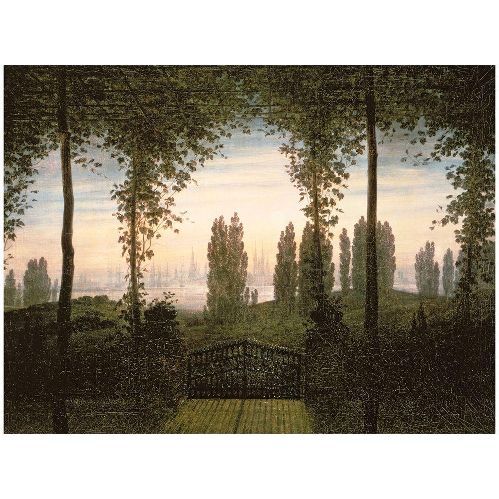 24 in. x 32 in. Remembrence of Johann Bremen Canvas Art