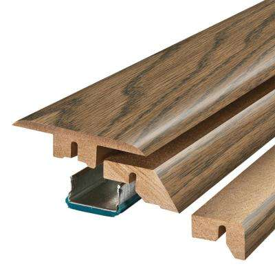 Reclaimed Elm 3/4 in. Thick x 2-1/8 in. Wide x 78-3/4 in. Length Laminate 4-in-1 Molding
