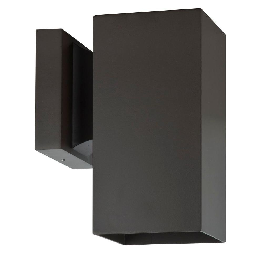 Luminance Architectural Exterior 1-Light Oil Bronze Wall Sconce