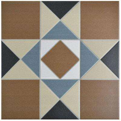 Vanity Cotto 13 in. x 13 in. Porcelain Floor and Wall Tile (12.2 sq. ft. / case)