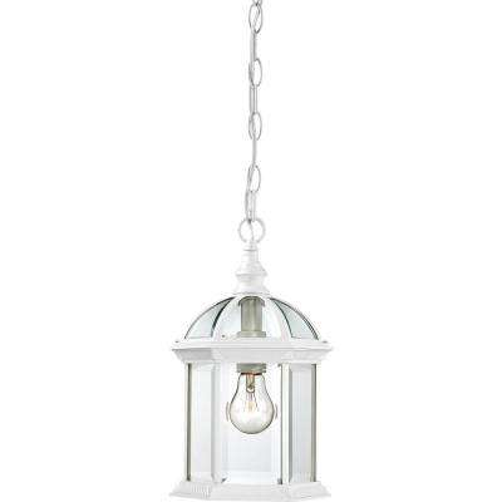 Haven White 1-Light Outdoor Hanging Lantern