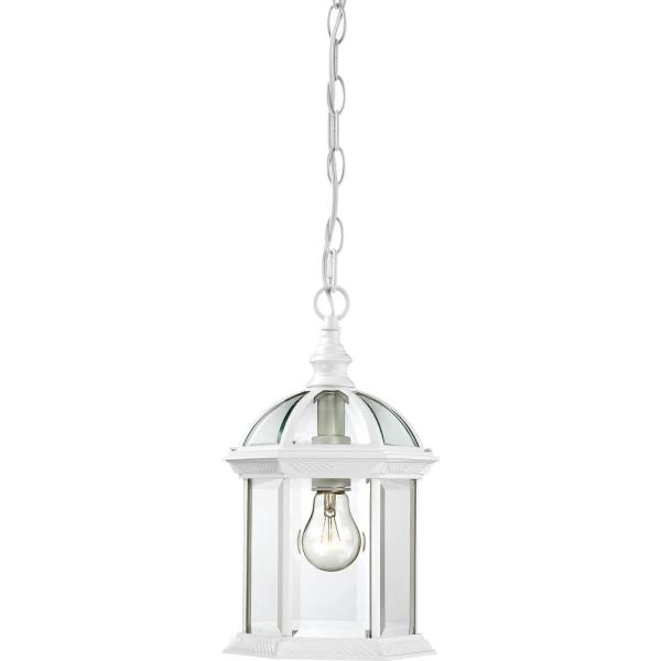 Haven White 1-Light Outdoor Hanging Lantern