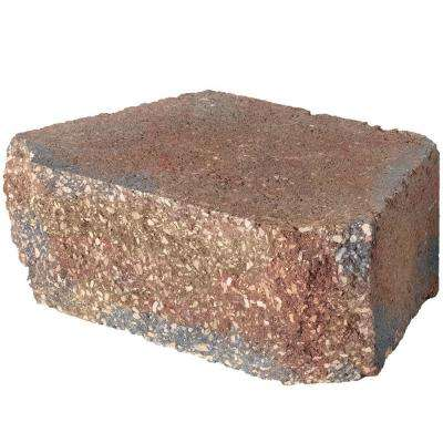 4 in. x 11.75 in. x 6.75 in. Harvest Blend Concrete Retaining Wall Block (144 Pcs. / 46.5 Face ft. / Pallet)