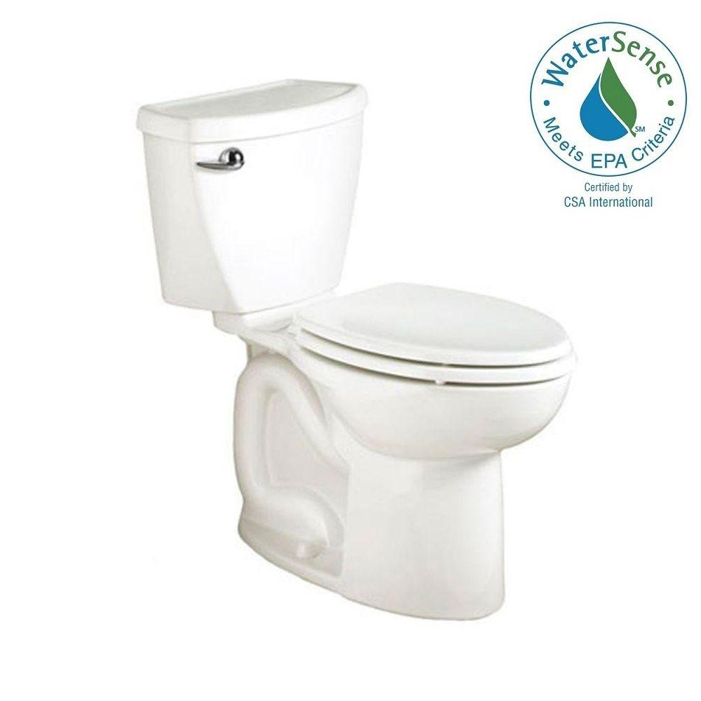 American Standard Cadet 3 FloWise 2-piece 1.28 GPF High Efficiency Elongated Toilet in White