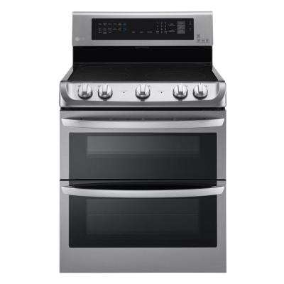 7.3 cu. ft. Double Oven Electric Range with ProBake Convection, Self Clean and Infrared Heating in Stainless Steel
