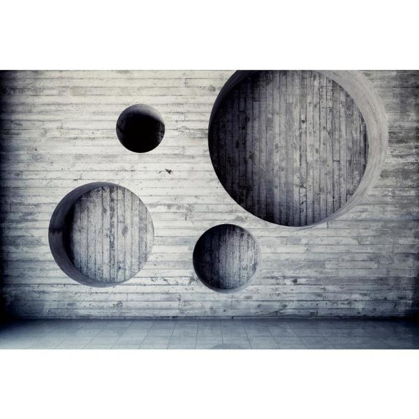 Scenic Geometric Background Landscapes Wall Mural