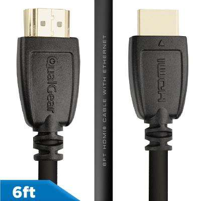 High Speed HDMI 2.0 Cable with Ethernet, 6 ft.
