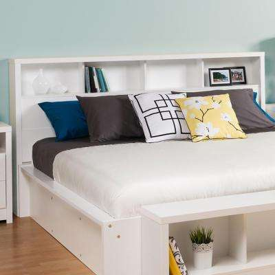 Calla White King Headboard