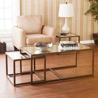 Antique Bronze End Table (Set of 3)