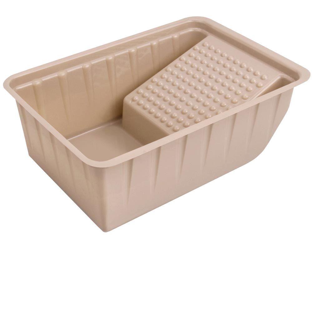 Earth Plastic 7-1/2 in. Plastic Mini-Roller Tray