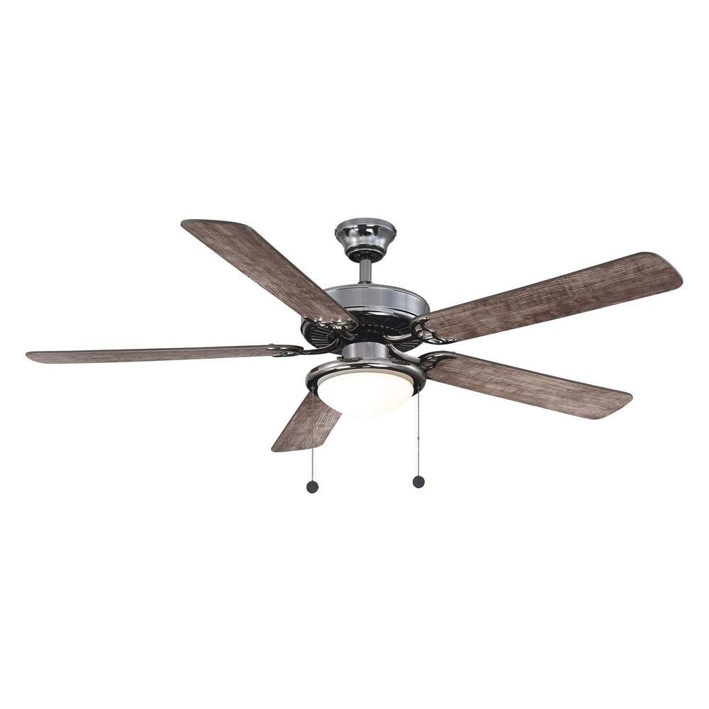 Trice 56 in. LED Gunmetal Ceiling Fan