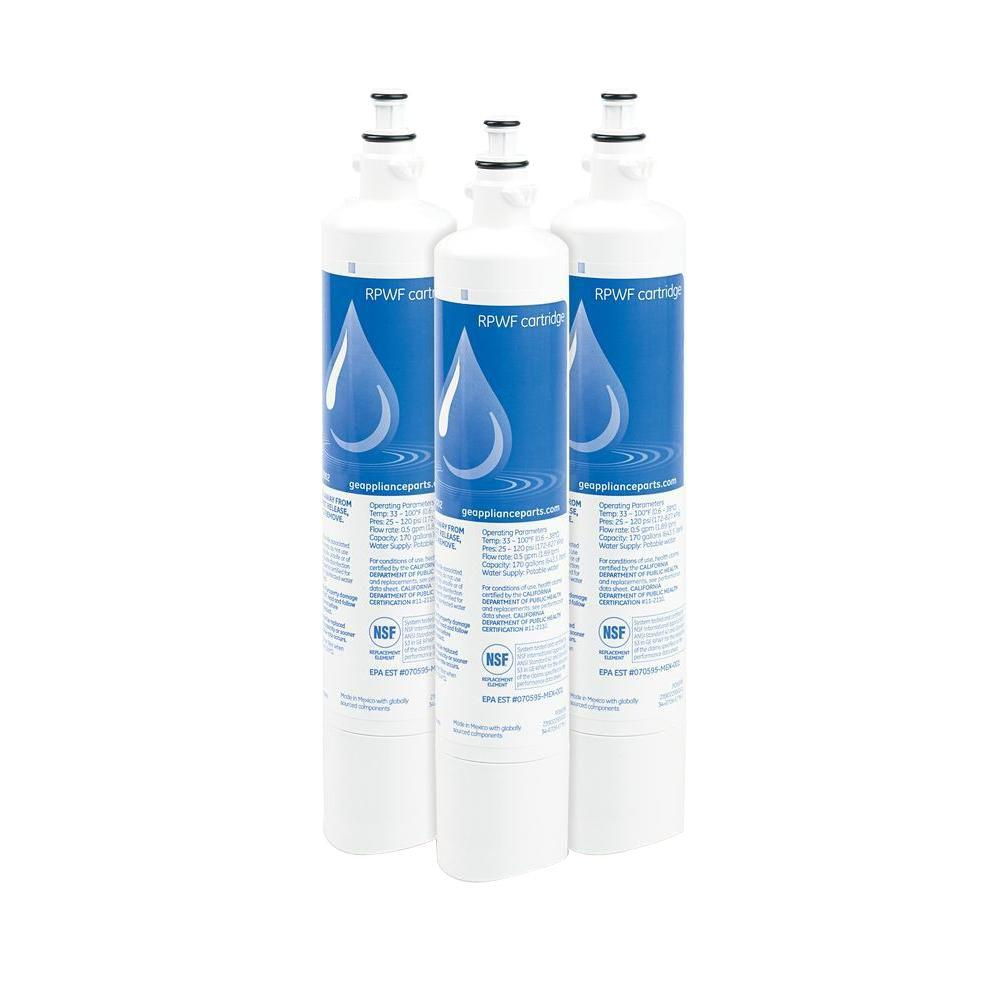 null Genuine Replacement Refrigerator Water Filter (3-Pack)