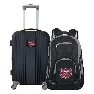 NCAA Missouri State University Bears 2-Piece Set Luggage and Backpack