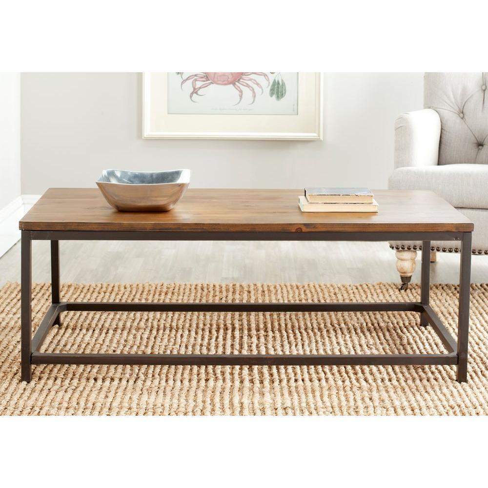 Safavieh Alec Brown Coffee Table