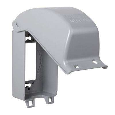 1-Gang Vertical Mount Weatherproof Extra Duty In-Use Cover