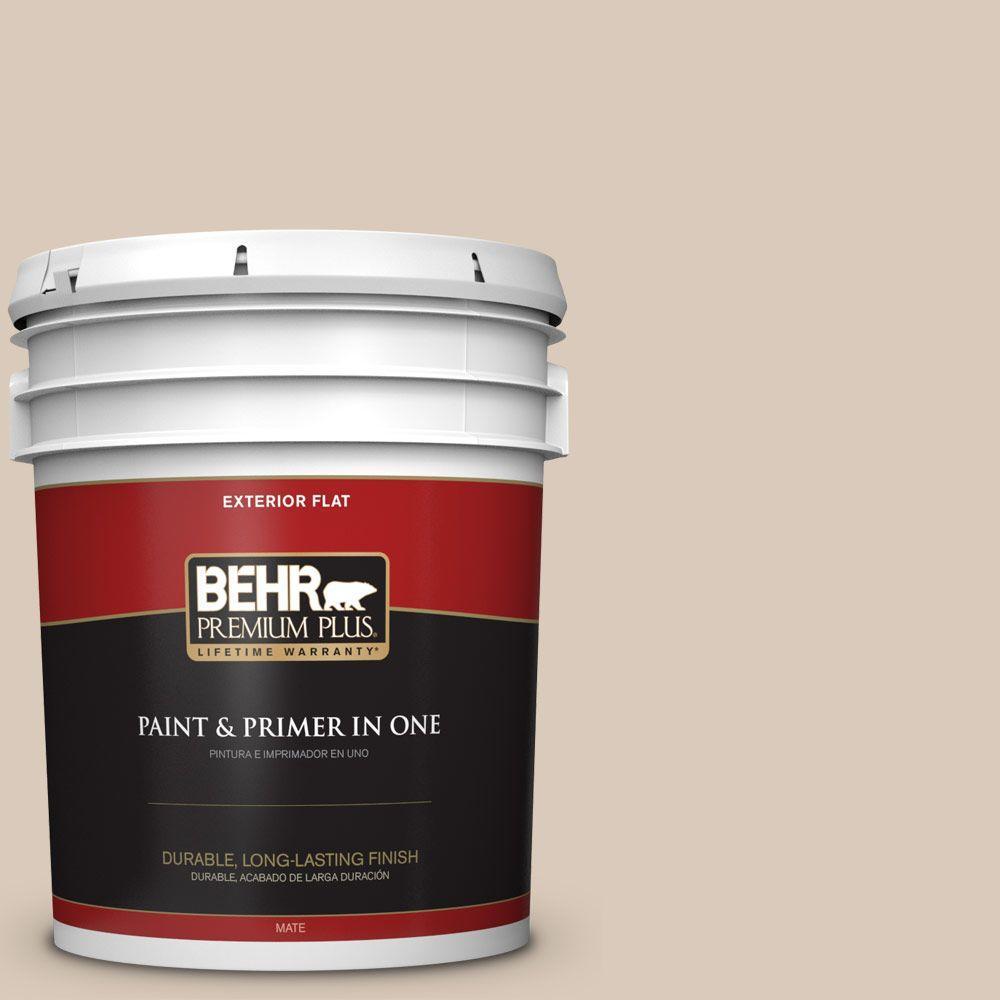 BEHR Premium Plus 5-gal. #ICC-22 Haze Flat Exterior Paint
