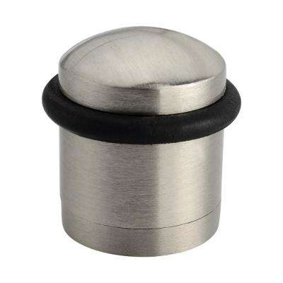 Cylinder 1-1/2 in. Satin Nickel Door Stop