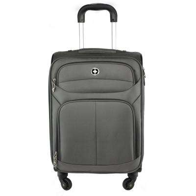 Lucerne 2-Piece Upright Carry-on 20 in. Suitcase Plus 17 in. Backpack Combo