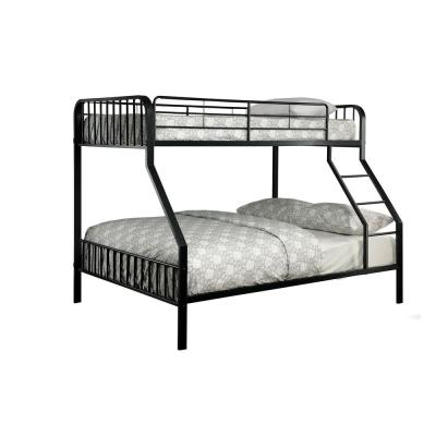 Clement Black Twin/Full Size Bunk Bed