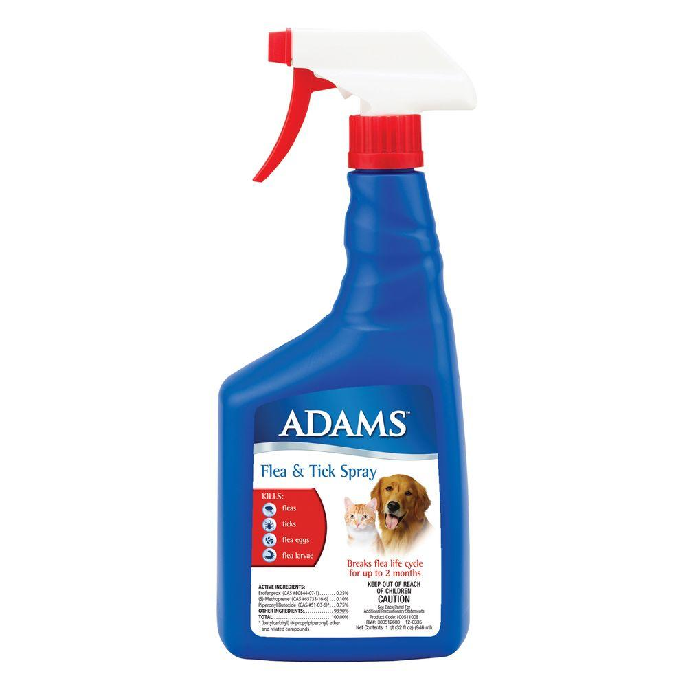 Adams 32 oz. Flea and Tick Spray