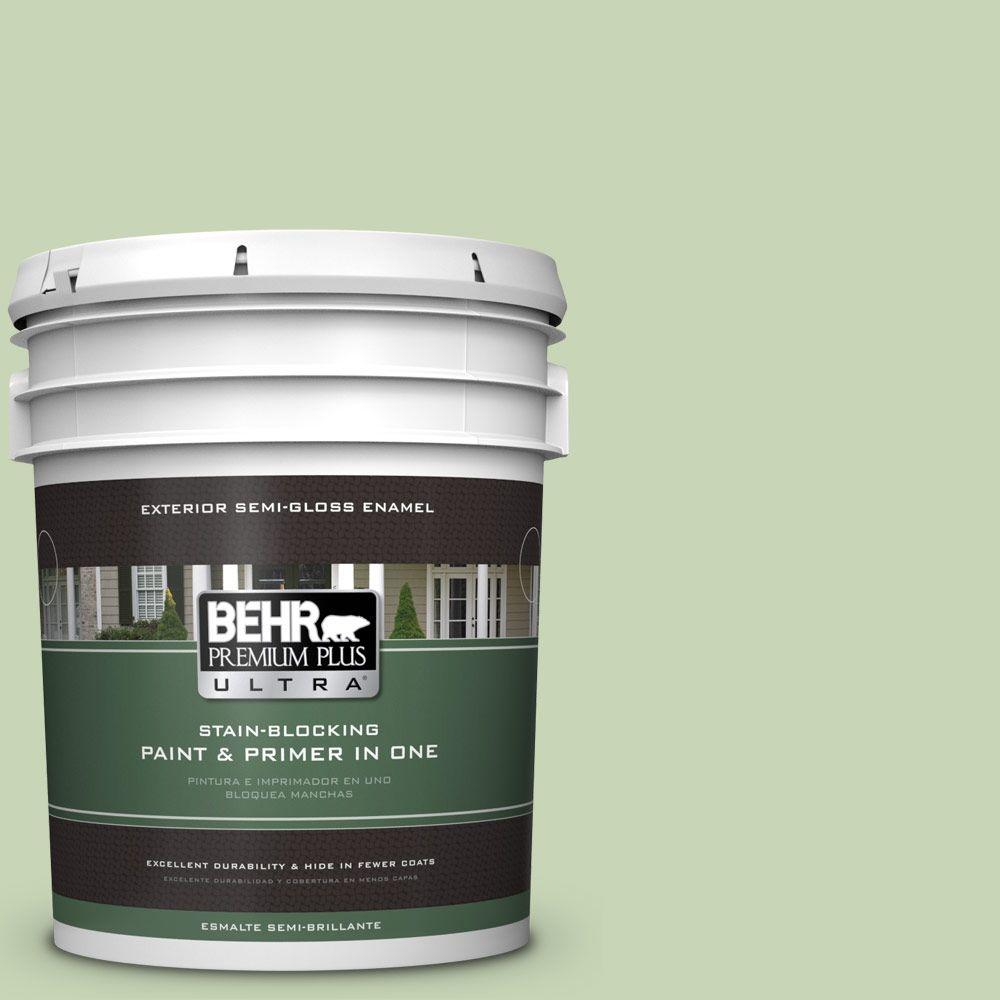 BEHR Premium Plus Ultra 5-gal. #M370-3 Spice Garden Semi-Gloss Enamel Exterior Paint