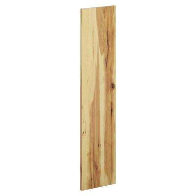 12 in. x 48 in. x 0.75 in. Universal End Panel in Hickory
