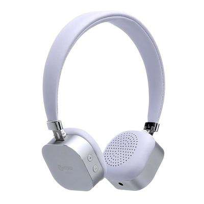 KB-100 Bluetooth Wireless Kids Over-The-Ear Headphones, Volume Safe Limiter (MAX 85db) Adjustable Headset in White
