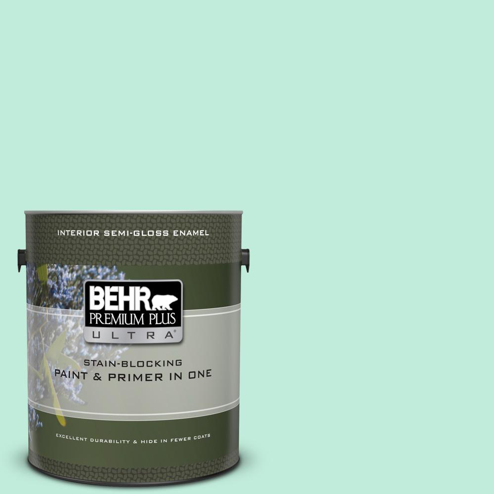 470a 2 Seafoam Pearl Semi Gloss Enamel Interior Paint And Primer In One