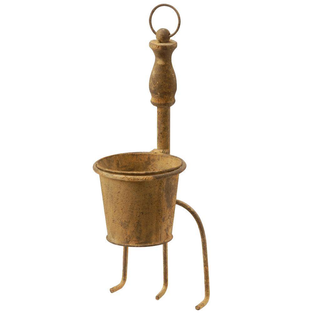 15 in. Garden Accents Cultivator/Flowerpot