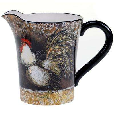 The Vintage Rooster Collection 2.5-Qt. Ceramic Pitcher