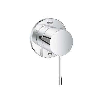 Essence 1-Handle 3-Way Diverter Trim Kit in Starlight Chrome (Valve Not Included)