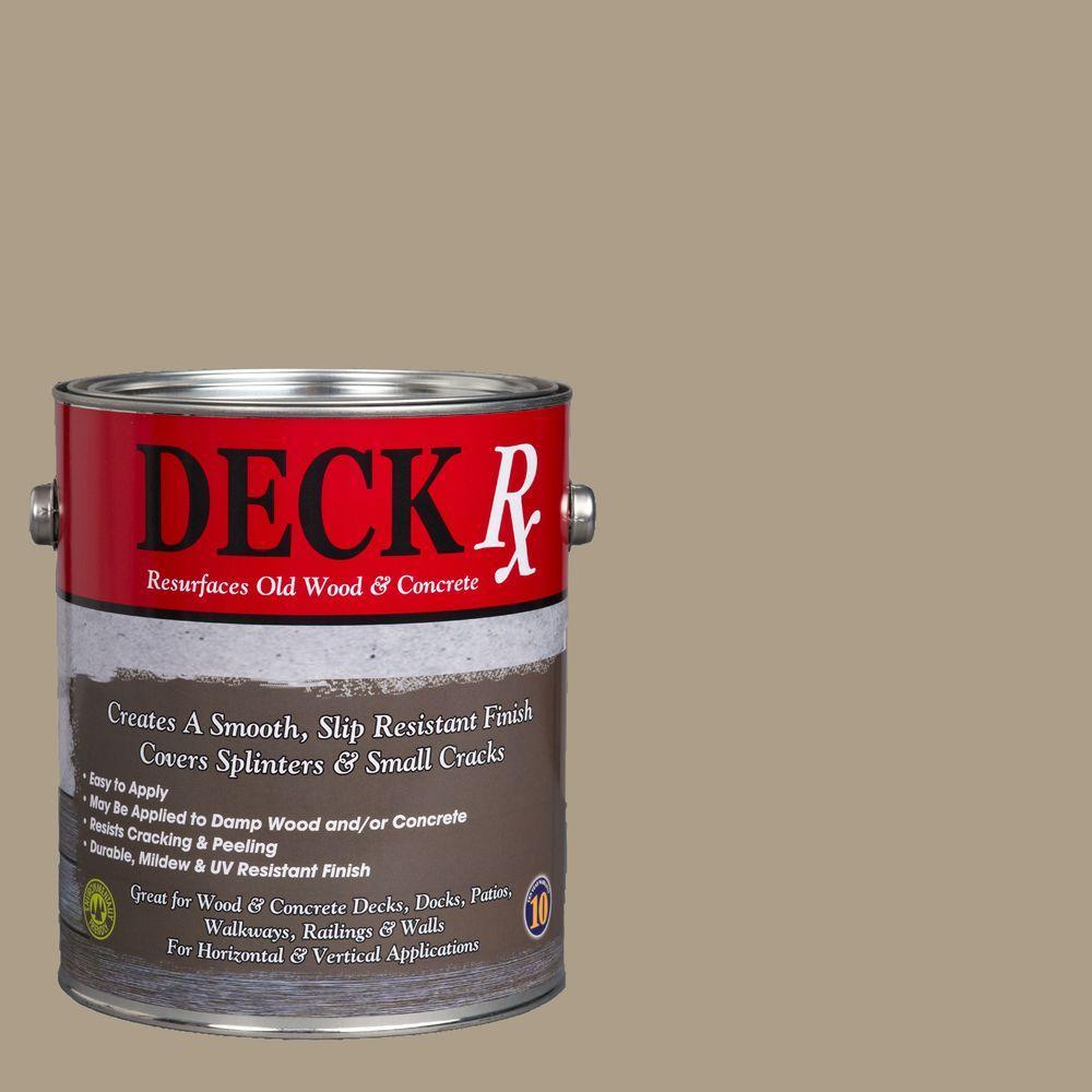 Deck Rx 1 gal. Mediterranean Wood and Concrete Exterior Resurfacer