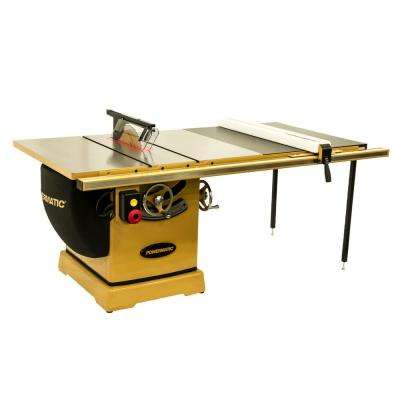 3000B 230-Volt/460-Volt 7.5 HP 3PH 50 in. RIP Table Saw with Accu-Fence
