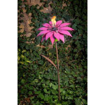 36 in. Bishop Dahlia Garden Torch
