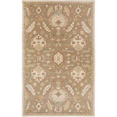 Matthias Olive 12 ft. x 15 ft. Indoor Area Rug