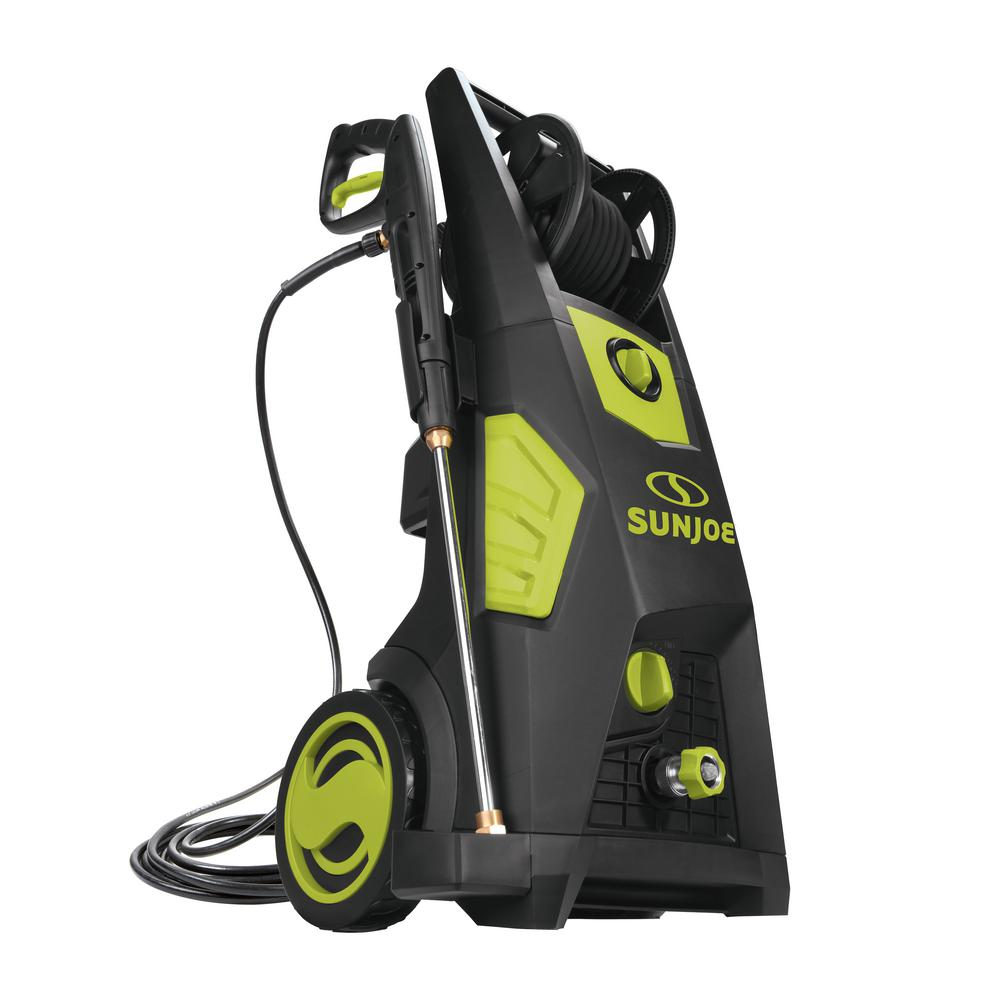 Sun Joe 2300 Max PSI 1.48 GPM Brushless Induction Electric Pressure Washer with Hose Reel