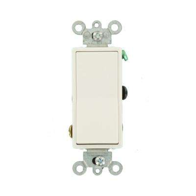 Decora 15 Amp 4-Way Switch - White