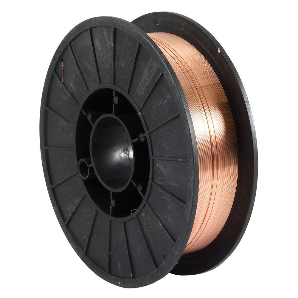 0.024 Dia E70S-6 Mild Steel MIG Wire 10 lb. Spool
