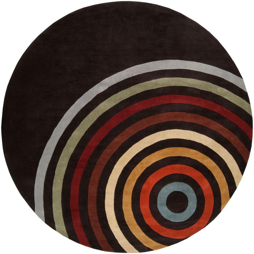 Artistic Weavers Michael Brown 6 ft. Round Area Rug