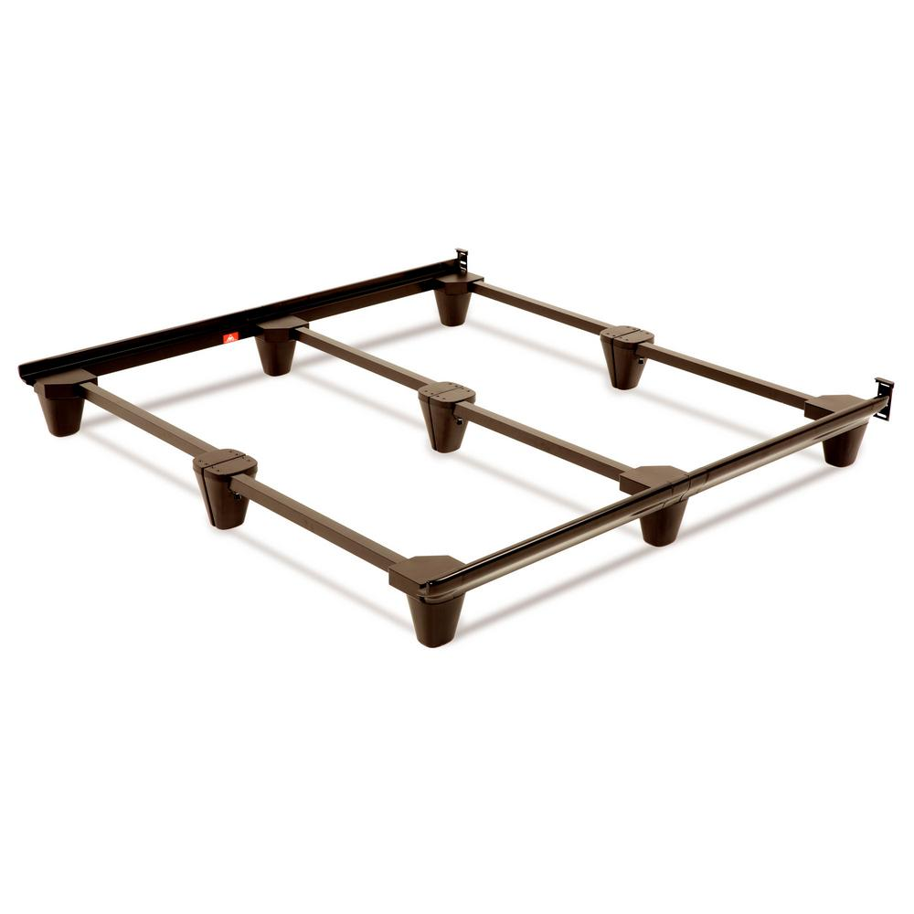 Fashion Bed Group Presto Universal Size Steel Bed Frame, Mahogany ...
